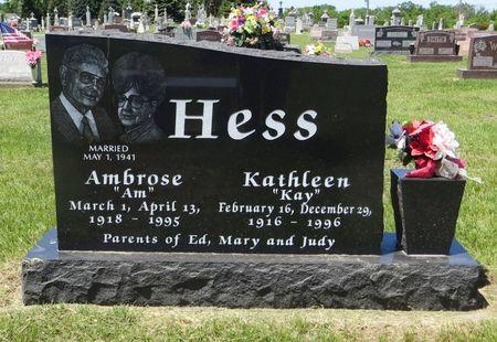 HESS, AMBROSE