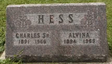 HESS, ALVINA - Dubuque County, Iowa | ALVINA HESS
