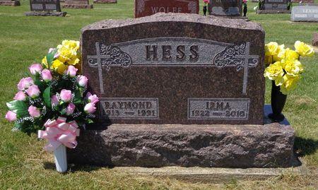 HESS, RAYMOND - Dubuque County, Iowa | RAYMOND HESS