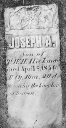 HICKMAN, JOSEPH A. - Dubuque County, Iowa | JOSEPH A. HICKMAN