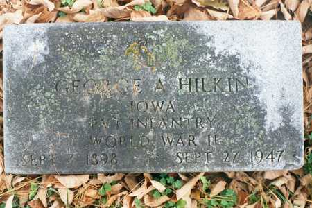 HILKIN, GEORGE A. - Dubuque County, Iowa | GEORGE A. HILKIN