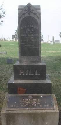 HILL, JAMES - Dubuque County, Iowa   JAMES HILL