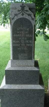 HILL, SYLVIA - Dubuque County, Iowa   SYLVIA HILL