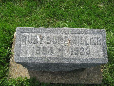 BURD HILLIER, RUBY - Dubuque County, Iowa | RUBY BURD HILLIER