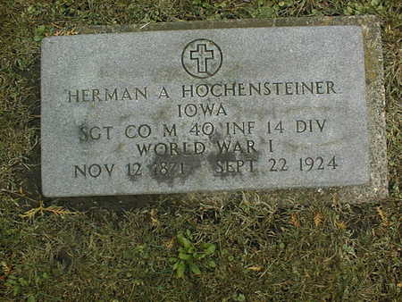 HOCHENSTEINER, HERMAN A. - Dubuque County, Iowa | HERMAN A. HOCHENSTEINER