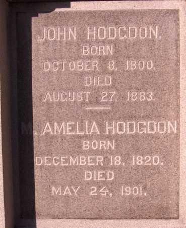 HODGDON, JOHN - Dubuque County, Iowa | JOHN HODGDON