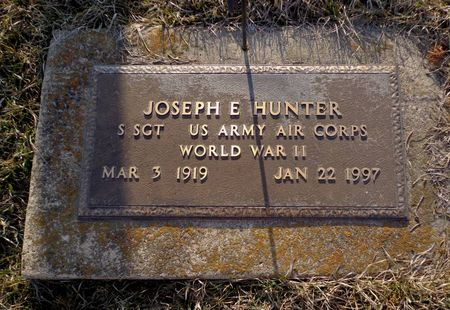 HUNTER, JOSEPH E. - Dubuque County, Iowa | JOSEPH E. HUNTER