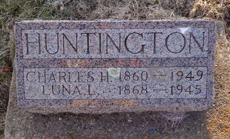 HUNTINGTON, CHARLES H. - Dubuque County, Iowa | CHARLES H. HUNTINGTON