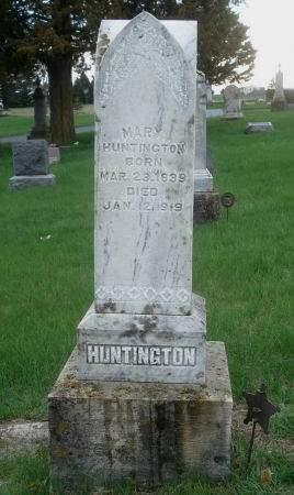 HUNTINGTON, MARY - Dubuque County, Iowa | MARY HUNTINGTON