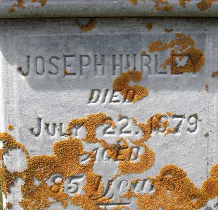 HURLEY, JOSEPH - Dubuque County, Iowa   JOSEPH HURLEY
