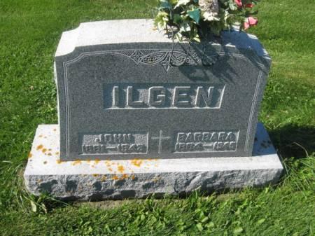 ILGEN, BARBARA - Dubuque County, Iowa   BARBARA ILGEN