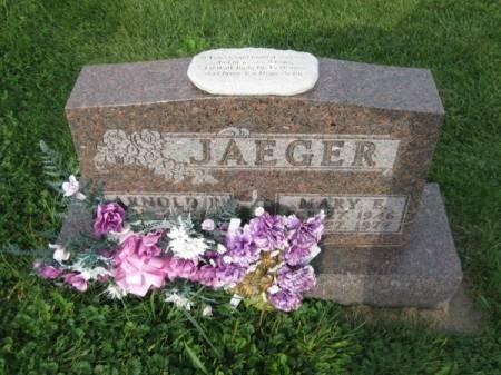 JAEGER, MARY E. - Dubuque County, Iowa   MARY E. JAEGER
