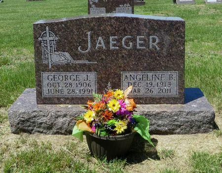 JAEGER, ANGELINE B. - Dubuque County, Iowa | ANGELINE B. JAEGER