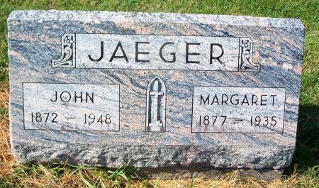JAEGER, MARGARET - Dubuque County, Iowa | MARGARET JAEGER