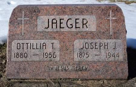 JAEGER, OTTILLA T. - Dubuque County, Iowa   OTTILLA T. JAEGER