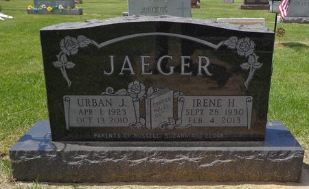 JAEGER, IRENE H. - Dubuque County, Iowa | IRENE H. JAEGER