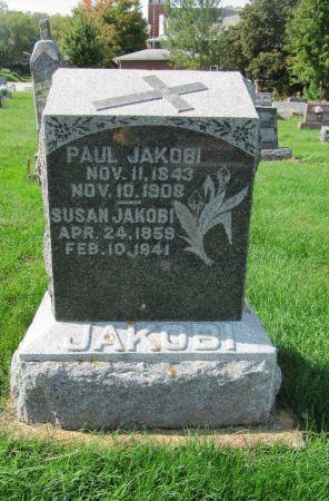 JAKOBI, PAUL - Dubuque County, Iowa   PAUL JAKOBI