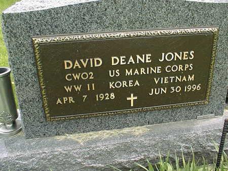 JONES, DAVID DEAN - Dubuque County, Iowa | DAVID DEAN JONES