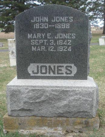 JONES, MARY E. - Dubuque County, Iowa | MARY E. JONES