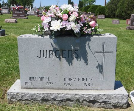 JURGENS, MARY ENETTE - Dubuque County, Iowa | MARY ENETTE JURGENS
