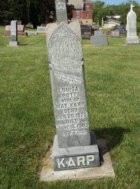 KARP, LOUISA - Dubuque County, Iowa | LOUISA KARP