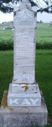 KAY, REV. JAMES - Dubuque County, Iowa | REV. JAMES KAY