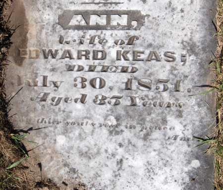 KEAS, ANN - Dubuque County, Iowa   ANN KEAS