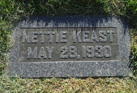 KEAST, NETTIE - Dubuque County, Iowa | NETTIE KEAST