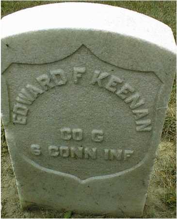 KEENAN, EDWARD F. - Dubuque County, Iowa   EDWARD F. KEENAN
