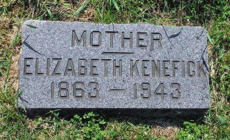 KENEFICK, ELIZABETH - Dubuque County, Iowa | ELIZABETH KENEFICK