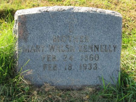 WALSH KENNELLY, MARY - Dubuque County, Iowa | MARY WALSH KENNELLY