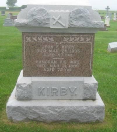 KIRBY, HNORAH - Dubuque County, Iowa | HNORAH KIRBY