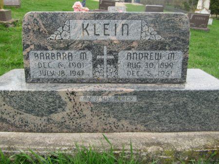 KLEIN, ANDREW M. - Dubuque County, Iowa | ANDREW M. KLEIN