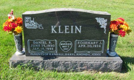 KLEIN, ROSEMARY J. - Dubuque County, Iowa   ROSEMARY J. KLEIN