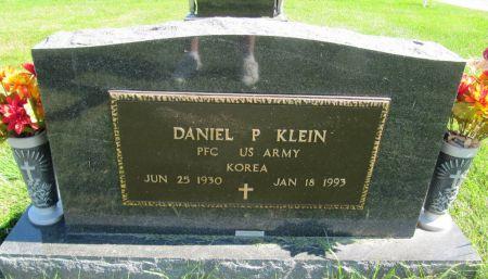 KLEIN, PFC DANIEL P. - Dubuque County, Iowa | PFC DANIEL P. KLEIN