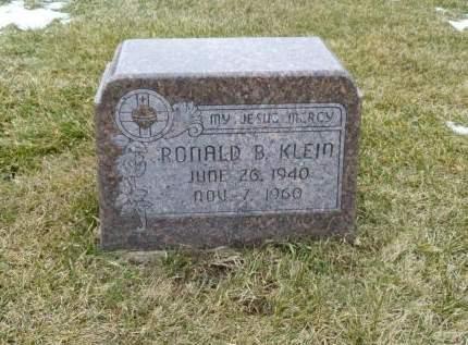 KLEIN, RONALD B. - Dubuque County, Iowa   RONALD B. KLEIN
