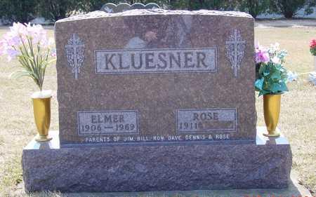 KLUESNER, ELMER F. - Dubuque County, Iowa | ELMER F. KLUESNER
