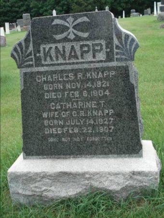 KNAPP, CATHARINE T. - Dubuque County, Iowa   CATHARINE T. KNAPP