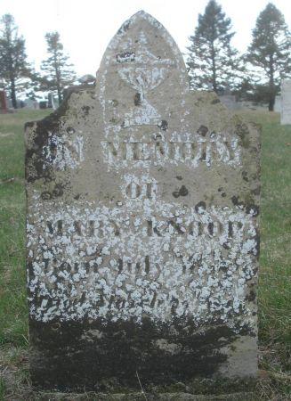 KNOOP, MARY - Dubuque County, Iowa | MARY KNOOP