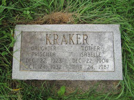 KRAKER, ISABELLE - Dubuque County, Iowa | ISABELLE KRAKER
