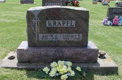 KRAPFL, LORAINE E. - Dubuque County, Iowa | LORAINE E. KRAPFL