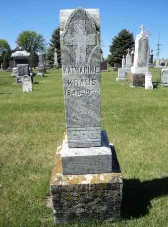 KRAUS, KATHARINE - Dubuque County, Iowa | KATHARINE KRAUS