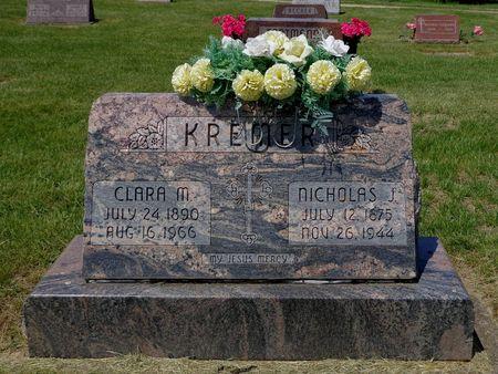 KREMER, NICHOLAS J. - Dubuque County, Iowa | NICHOLAS J. KREMER