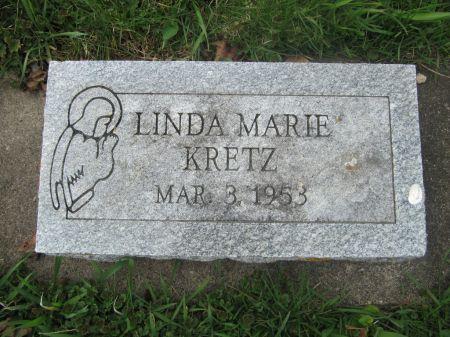 KRETZ, LINDA MARIE - Dubuque County, Iowa   LINDA MARIE KRETZ