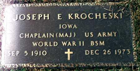 KROCHESKI, JOSEPH E. - Dubuque County, Iowa | JOSEPH E. KROCHESKI