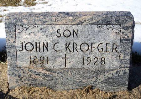 KROEGER, JOHN C. - Dubuque County, Iowa | JOHN C. KROEGER