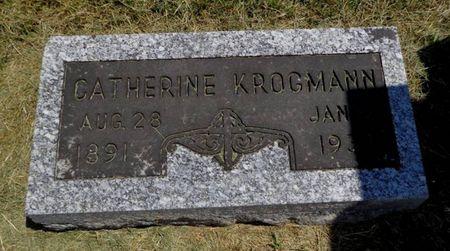 BRUGGEMANN-KLAREN KROGMANN, CATHERINE - Dubuque County, Iowa | CATHERINE BRUGGEMANN-KLAREN KROGMANN