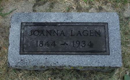 LAGEN, JOANNA - Dubuque County, Iowa | JOANNA LAGEN