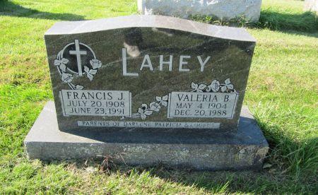 LAHEY, FRANCIS J. - Dubuque County, Iowa | FRANCIS J. LAHEY