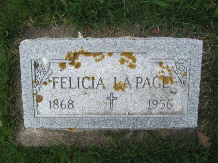 LA PAGE, FELICIA - Dubuque County, Iowa | FELICIA LA PAGE